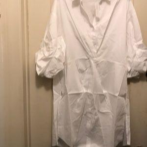 White Button Down Shirt